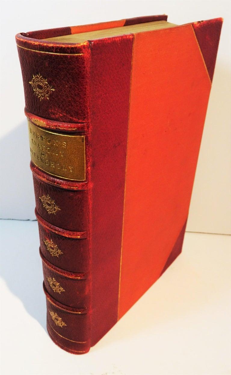 British Medical: Burton's Anatomy of Melancholy, in Leather, New Edition, London, 1863