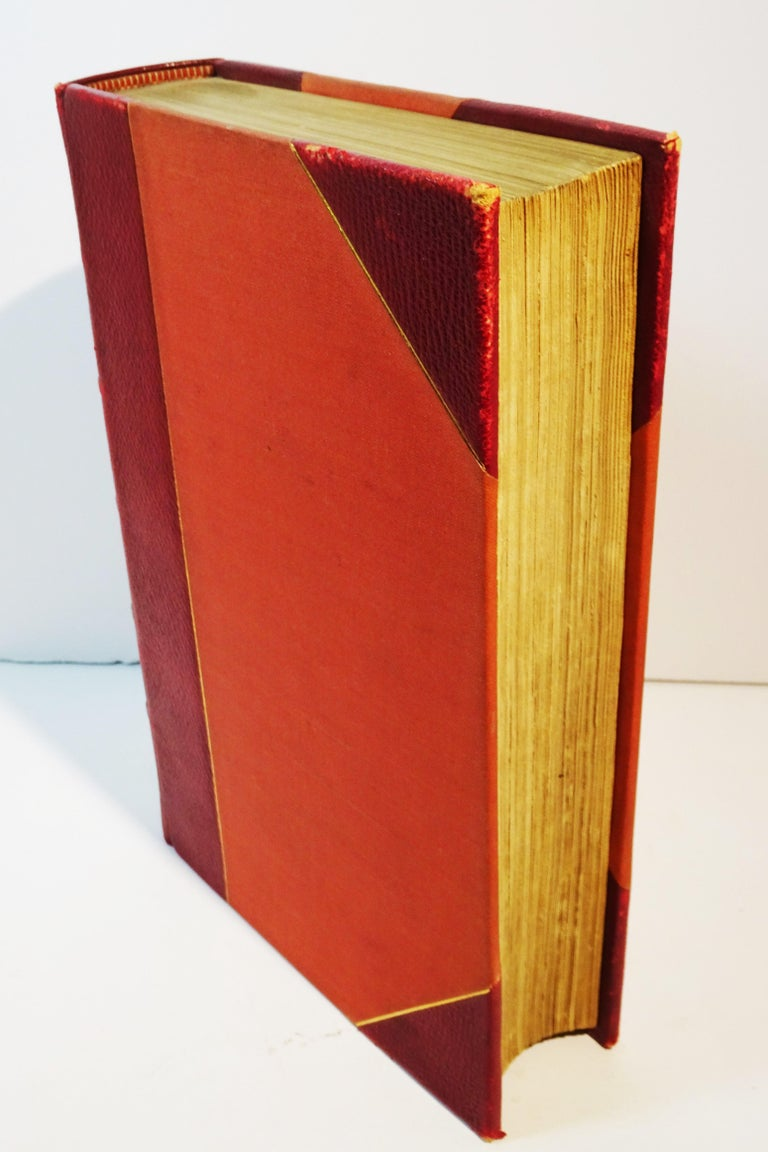 Medical: Burton's Anatomy of Melancholy, in Leather, New Edition, London, 1863 In Good Condition In Quechee, VT
