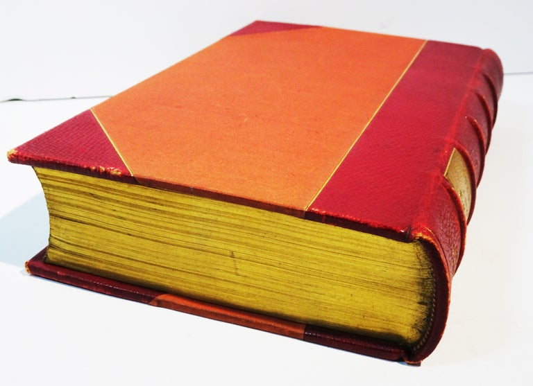 Medical: Burton's Anatomy of Melancholy, in Leather, New Edition, London, 1863 1