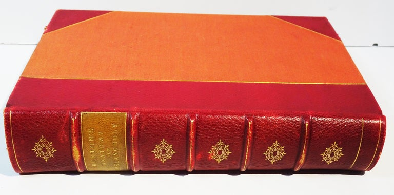 Medical: Burton's Anatomy of Melancholy, in Leather, New Edition, London, 1863 2