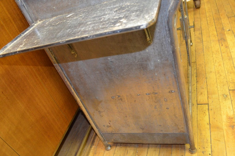 Medical Cabinet from the Art Deco Period, circa 1920s For Sale 11