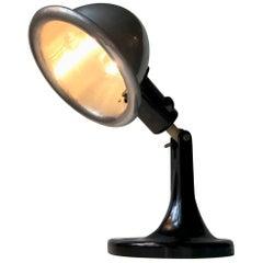 Medical DDR Table Lamp in Bakelite and Aluminium, circa 1940
