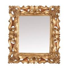 Medicea Oro Carved Wood Mirror