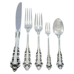 Medici by Gorham '1971' Sterling Silver Flatware Set for 8 Service 40 Pieces
