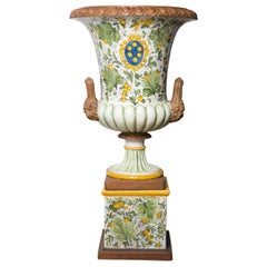 Medici Large Ceramic Vase by Manetti e Masini