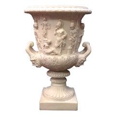 Medici Marble Vase Large, 20th Century