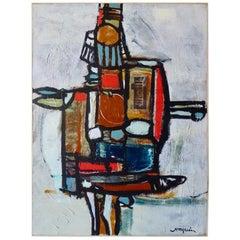 """Medicine Man"" an Acrylic on Canvas Painting by American Artist Ken Joaquin"