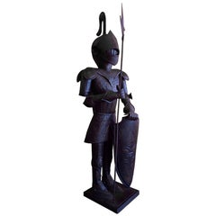 Medieval Armoured Knight Statue
