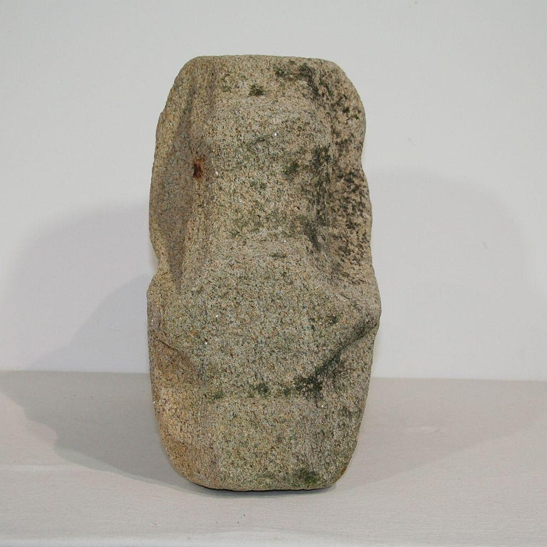 Medieval Gothic French Carved Stone Architectural Fragment For Sale 3