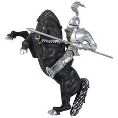 Medieval Knight Rider Sculpture