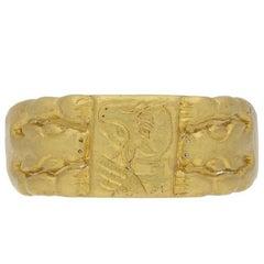 Medieval Ring of St Luke, circa 12th Century