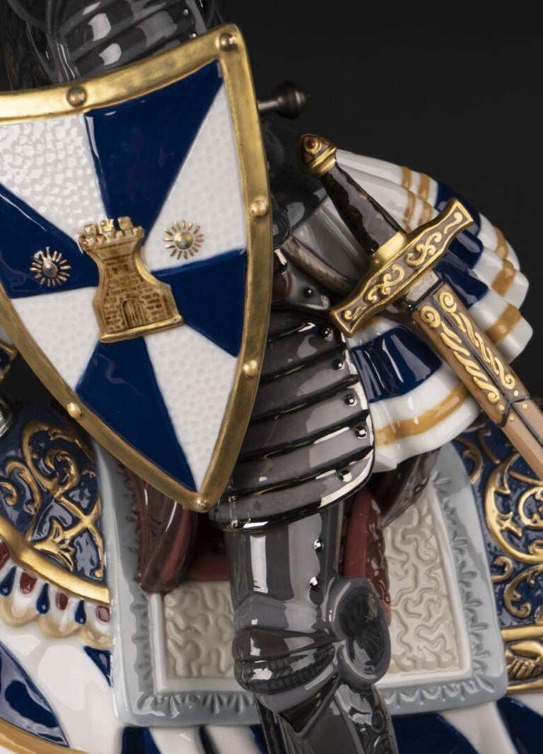 Medieval Tournament Sculpture. Limited Edition In New Condition For Sale In New York, NY