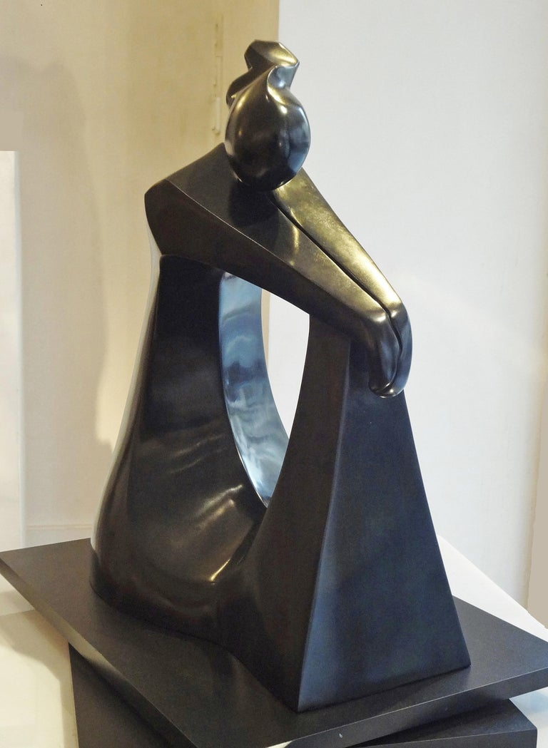 Patinated Méditation, 2007, by Capo di Feltre For Sale
