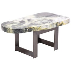 Meditation Stone Top Coffee Table