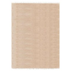 Meditative Lines Customizable Today Weave Rug in Biscuit Extra Large
