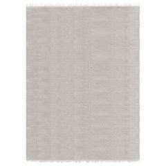 Meditative Lines Customizable Today Weave Rug in Moon Extra Large