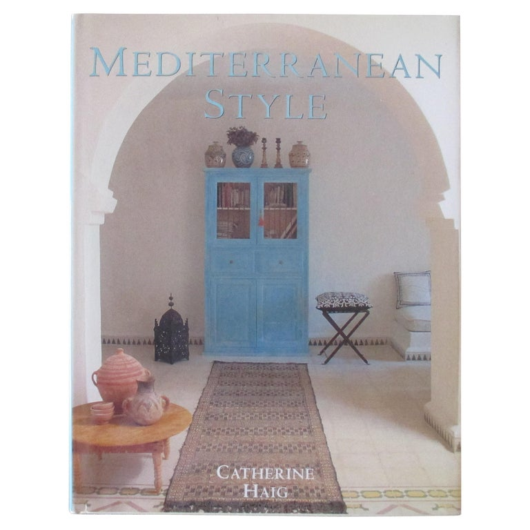 Mediterranean Style Hardcover Book For Sale