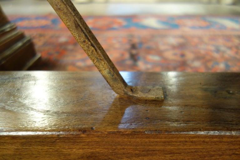 Mediterranean Style AMALFI Italian Old Walnut Writing Table, Custom Size For Sale 5