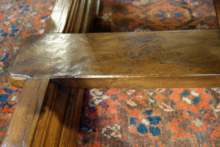Mediterranean Style AMALFI Italian Old Walnut Writing Table, Custom Size For Sale 7
