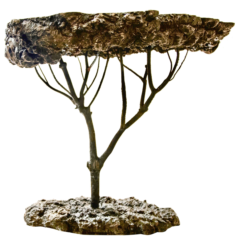 Mediterraneo Cast Bronze Side Table by Allegra Hicks