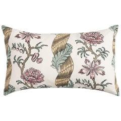 Medium Botanical Pillow by Antoinette Poisson, 100% Cotton