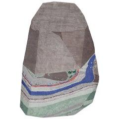 Medium Fordite Rock Shaped Rug by Patricia Urquiola for CC-Tapis