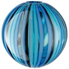 Medium Perles 2 Vase in Hand Blown by Salviati