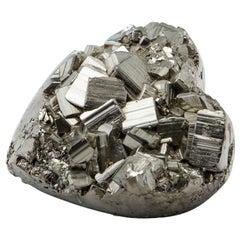Medium Pyrite Heart