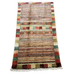 Medium Size Asian Bedside Carpet, Colorful / 197