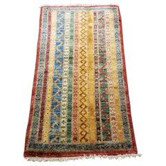 Medium Size Asian Bedside Carpet, Colorful / 208
