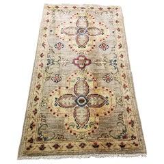 Medium Size Asian Bedside Carpet, Colorful / 211