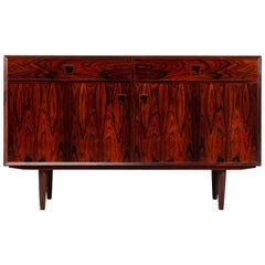 Medium Size Rosewood Sideboard by E. Brouer for Brouer Møbelfabrik, 1960s
