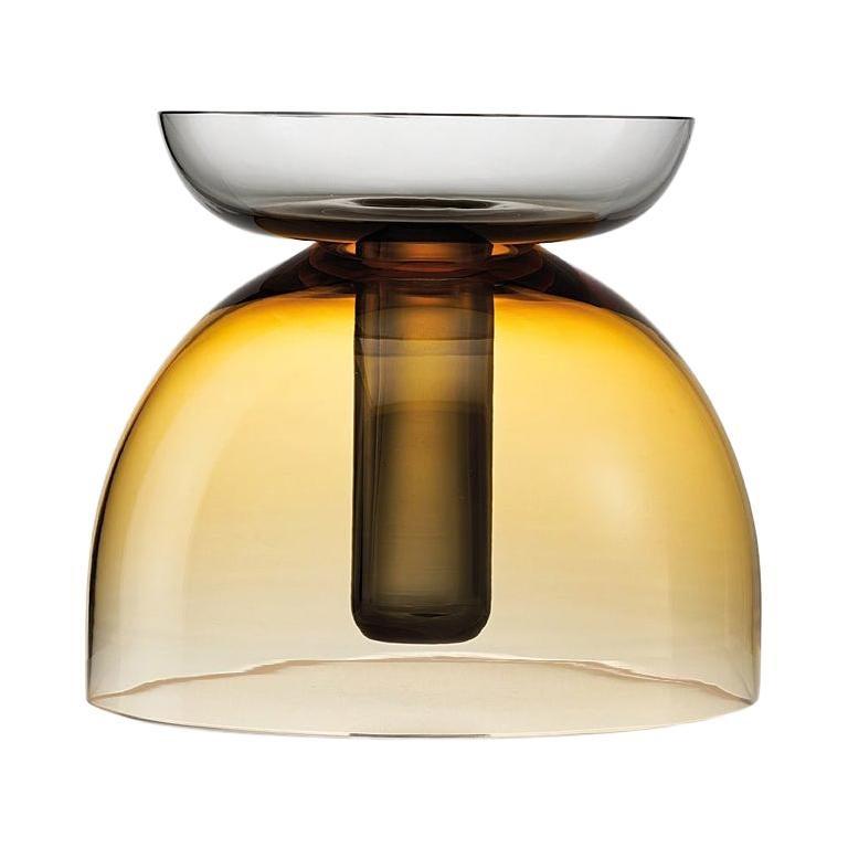 Medium Tabarro Centerpiece in Murano Glass by Alberto Lago