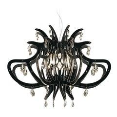 Medusa Black Ceiling Lamp by Nigel Coates
