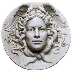 Medusa Low Relief by Romanelli