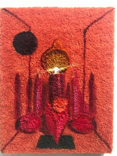 """Ipepsalope"" Acrylic Still Life Painting on Fleece"