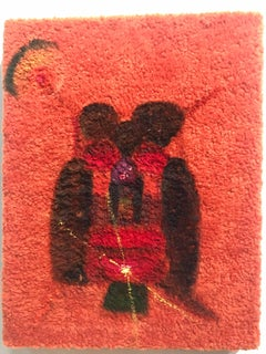 """Lucahiss"" Acrylic Still Life Painting on Fleece"