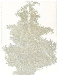 Shoonya: Vijnana Bhairava Tantra, Torah Cut Organic Undulating Text Collage