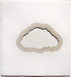 The Cloud of Unknowing, Undulating Beige Cut Upanishads Religious Text Collage