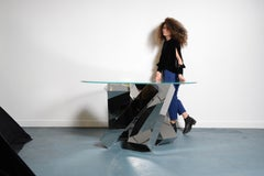 Megalith Table, Round Edition by Duffy London