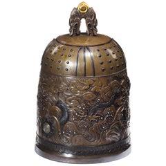 Meiji Period Bell Casket by the Nogowa Foundary