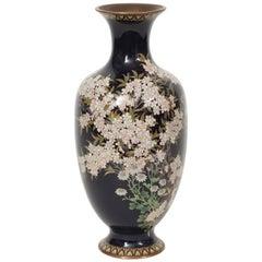 Meiji Period Japanese cloisonné Vase