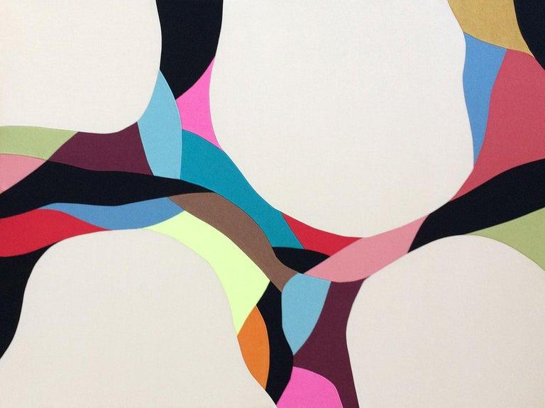 Crescendo-ORIGINAL WORK - Mixed Media Art by Meike Legler
