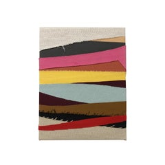 Egyptian Light (textile stripes art colorful stripes fabric abstract geometric)