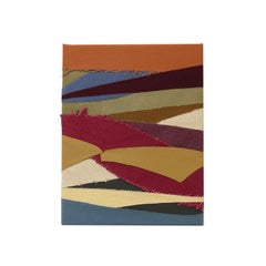 Secret Dance (textile stripes art fall colors stripes fabric abstract geometric)