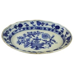 Meissen Blue Onion Serving Platter