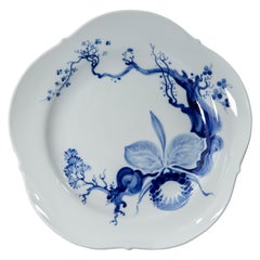 Meissen, Blue Orchid, Dinner Plate