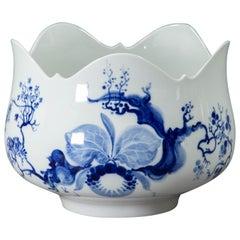 Meissen, Blue Orchid, Large Serving Bowl