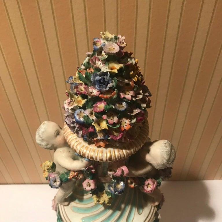 Meissen Covered Figural Vase, 1774-1815 B For Sale 1