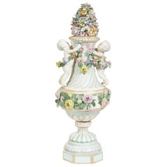 Meissen Covered Figural Vase, 1774-1815 B